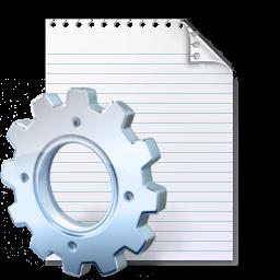 Iniファイルの拡張子 ソフトウェアでiniファイルを開けてください
