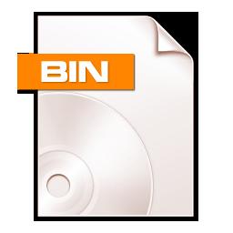 Binファイルの拡張子 ソフトウェアでbinファイルを開けてください